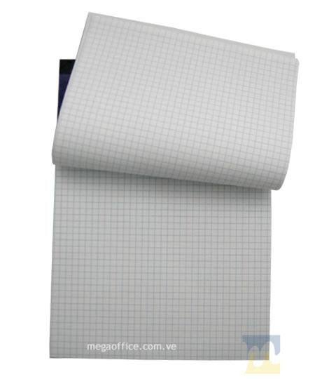 Block Cuadriculado (Abierto) de 40 Hojas en MegaOffice.com.ve