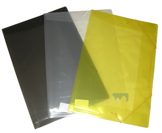 Carpeta con liga tamaño oficio Unicolor en MegaOffice.com.ve