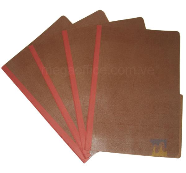 Carpeta de Fibra Plastificadad tamaño Oficio en MegaOffice.com.ve