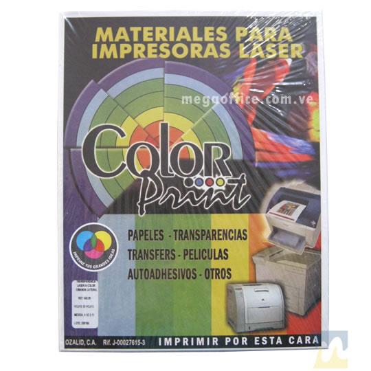 Papel Fotográfico Brillante tamaño Carta de 180 gr. en MegaOffice.com.ve